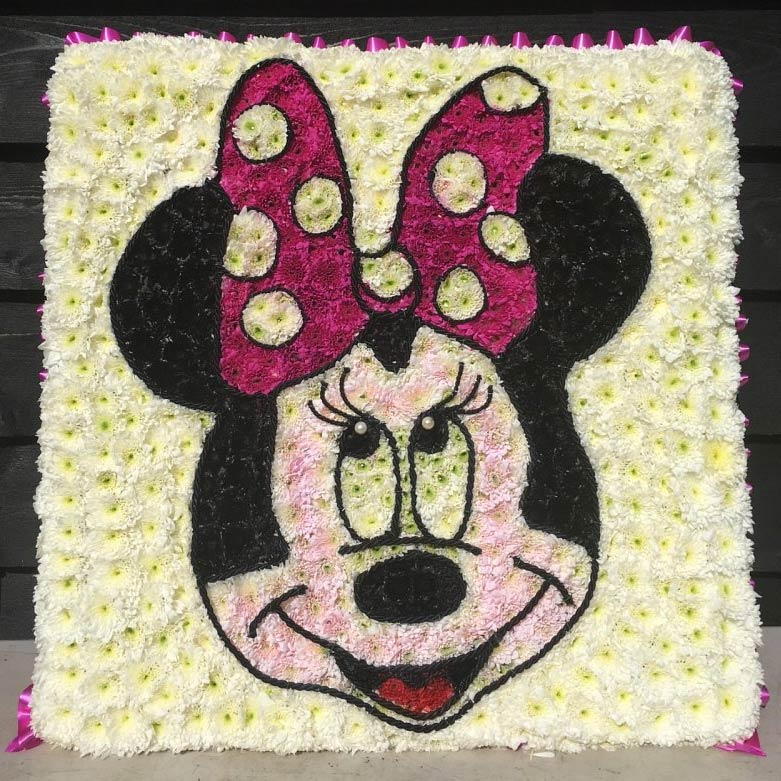 Mini Mouse Funeral Tribute