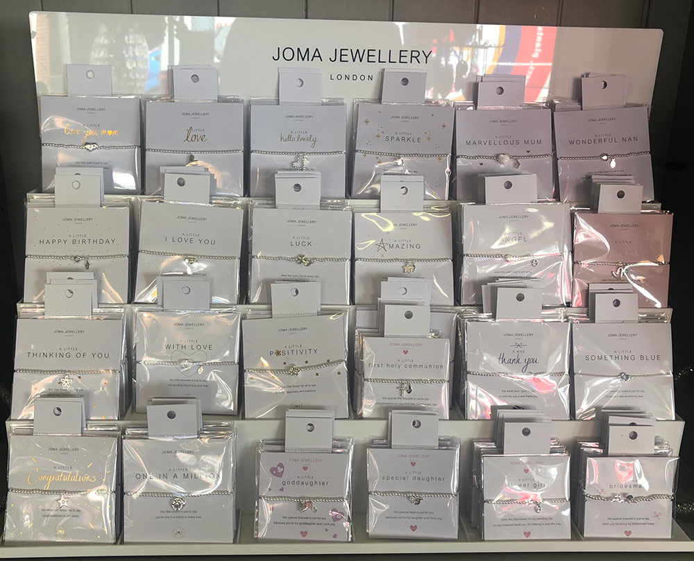 Selection of Joma Jewellery