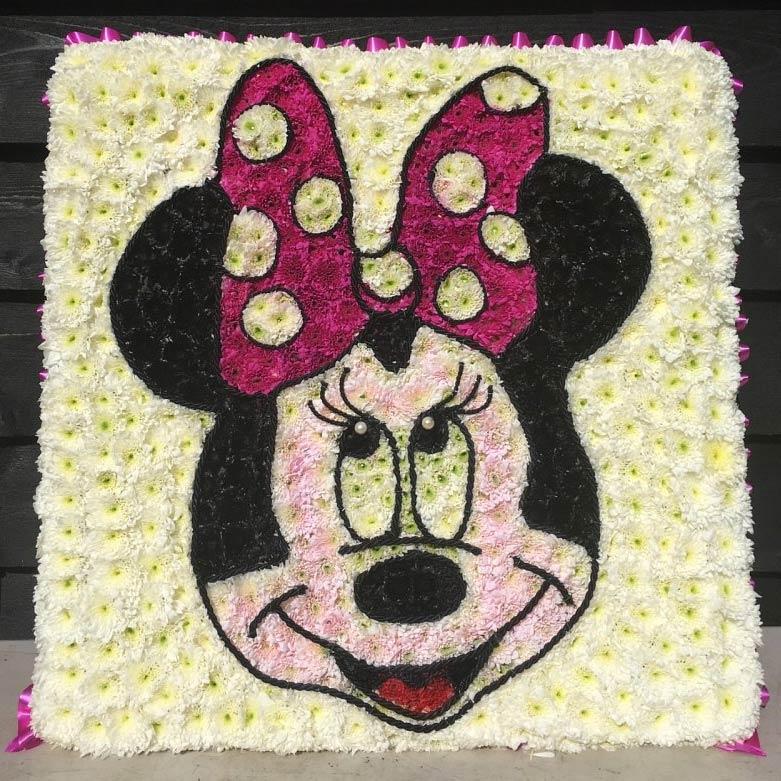 Mini Mouse Funeral Tribute