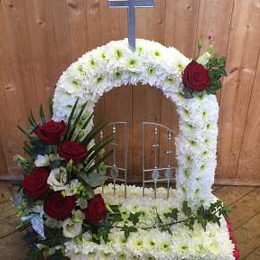 Gateway to heaven funeral tribute