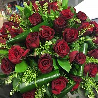 24 Red Roses Hand Tied