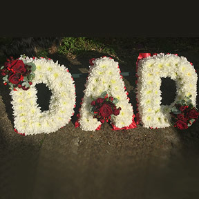 Dad frame funeral tribute